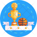 Basketball Trophy Basketball Championship Icon