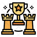 Trophy Chess Business Icon