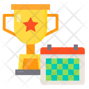 Trophy Calendar Award Icon