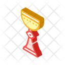 Cup Goblet Isometric Icon