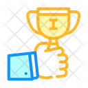 Winner Cup Color Icon