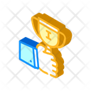 Winner Cup Isometric Icon