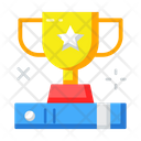 Trophy Award Education Icon