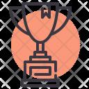 Trophy Champion Achievement Icon