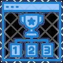 Trophy Award Seo Icon