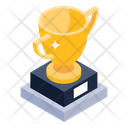 Winner Trophy Winning Cup Prize Icon