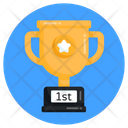 Achievement Trophy Star Trophy Icon