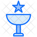 Trophy Star Prize Icon