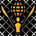 Trophy Golden Winner Icon