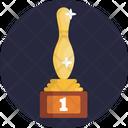 Bowling Pin Trophy Icon