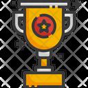 Trophy Award Champion Icon