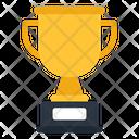 Trophy Triumph Award Icon