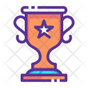 Trophy Olympics Games Icon