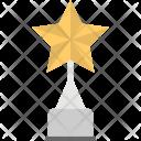 Trophy Star Award Icon
