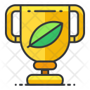 Trophy Fitness Award Icon