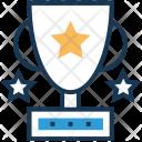 Trophy Award Winning Icon
