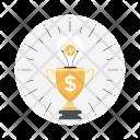 Trophy Business Achievement Icon