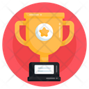 Achievement Trophy Cup Winning Trophy Icon