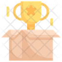 Trophy In The Box Icon