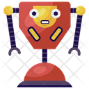Trophy Robot Icon
