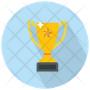 Trophy With A Star Trophy Award Icon