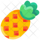 Tropical Fruit Pineapple Icon