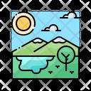 Nature Jungle Tropical Icon