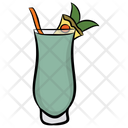 Tropical Drink Beverage Soda Water Icon