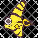Tropical Fish Aquatic Animal Specie Icon
