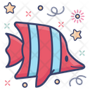 Tropical Fish Seafood Specie Icon