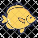 Tropical Fish Sealife Aquatic Icon