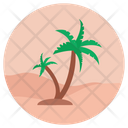 Resort Tropical Place Holiday Icon