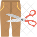 Trouser Cutting Measurement Icon