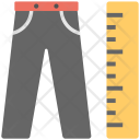 Trouser Length Measuring Icon