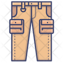 Pants Tactical Cargo Icon