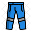 Trousers Labor Coat Icon
