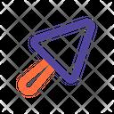 Trowel Equipment Worker Icon
