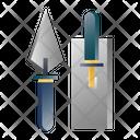 Trowel Holder Spatula Icon