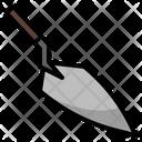 Masonry Trowel Tool Icon