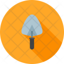 Trowel Wall Hand Icon