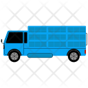 Moving Transpotation Truck Icon