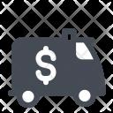 Truck Money Supply Icon
