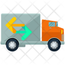 Moving Truck Shift Icon