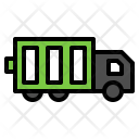 Truck Vehicle Battery Icon