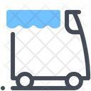 Truck Market Food Truck Icon