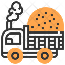 Truck Vehicle Dumper Icon