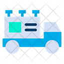 Truck Ads Shipping And Delivery Icon