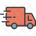 Truck Delivery Logistic Icon