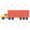 Delivery Container Moving Truck Icon