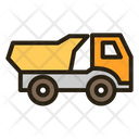 Truck Construction Truck Transport Icon